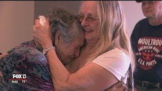 Aos 88 anos, mãe reencontra filha que pensou ter morrido no parto; veja o vídeo!