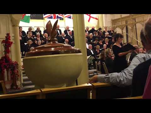 Gill Wilson (soprano) sings The Guns Have Stopped from Karl Jenkins' Armed Man
