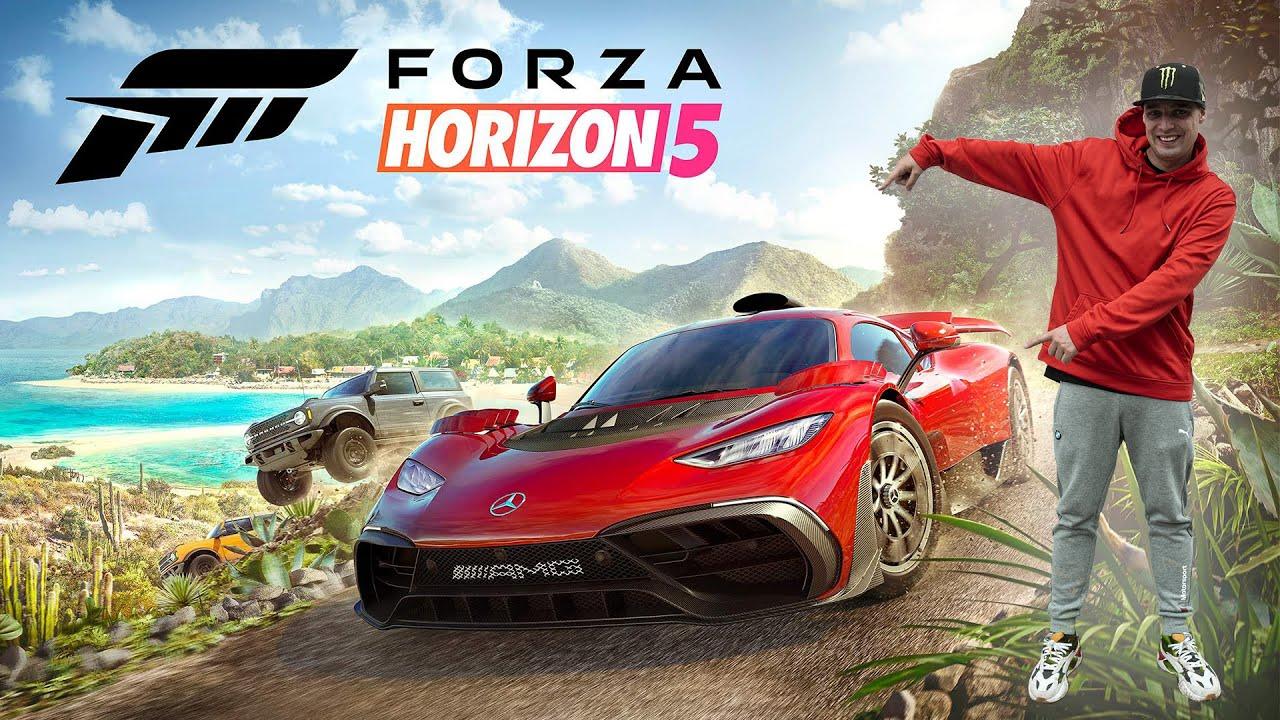 Forza Horizon 5 | Toyota Supra MK5 | Odhalení mapy | Nový Gameplay