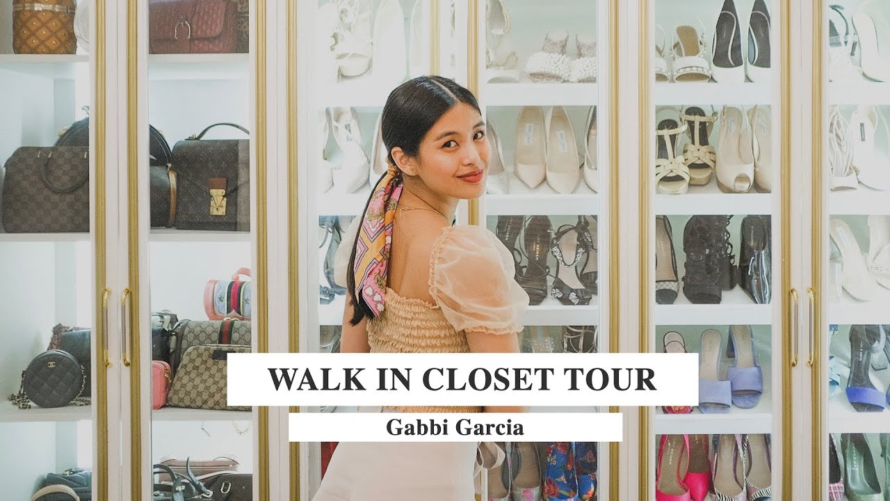 WALK IN CLOSET TOUR! ♡ | Gabbi Garcia
