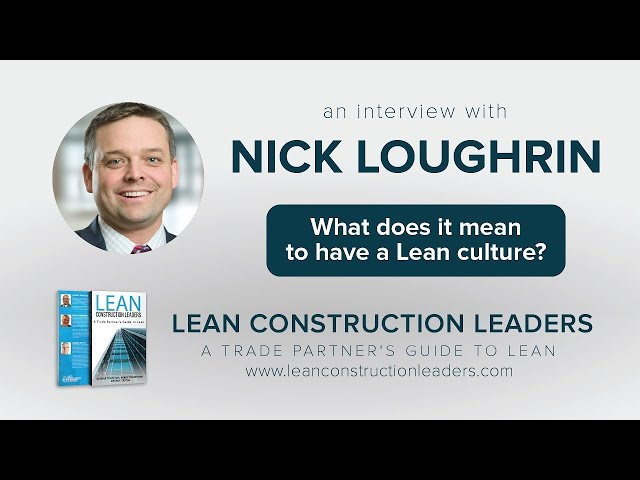 What does it mean to have a Lean culture?