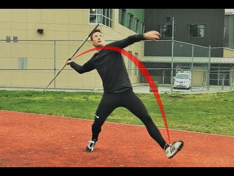 The Javelin Throw | 5 Easy Steps