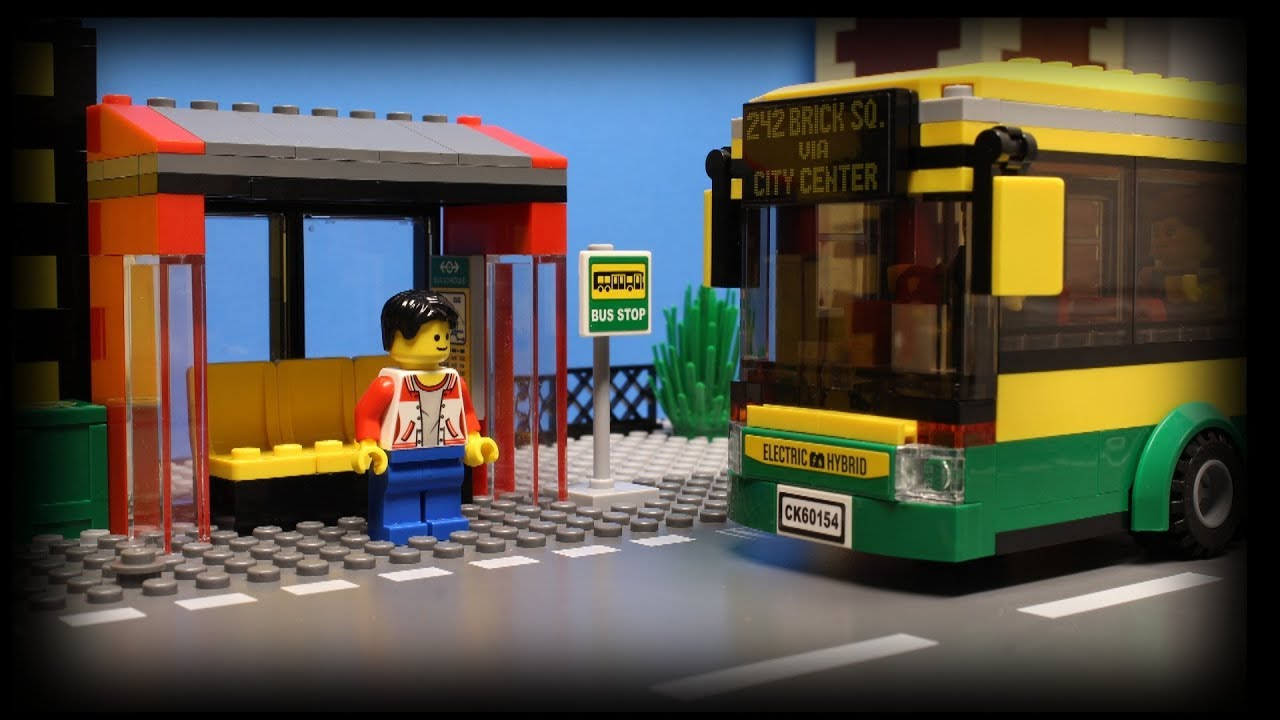 Lego City Bus Youtube