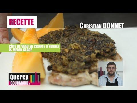 Recette : Côte de veau en croute d'herbes – quercygourmand.tv