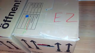 Umzugsbox Outpacking「Fast Daily Vlog」