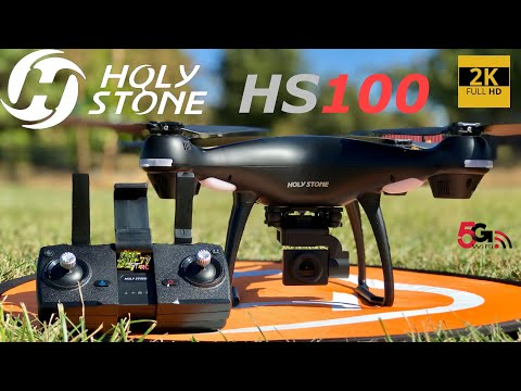 HolyStone HS100 GPS 2K 5G WiFi FPV Drone | How To Setup & Flight Test