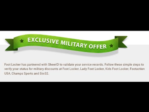 4d502019b Military discounts for all vets active members - YouTube