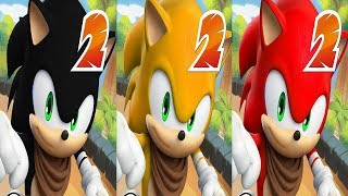 Sonic Dash 2 - SHADOW VS TAILS VS KNUCKLES