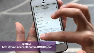 Internet and MMS settings for iPhone