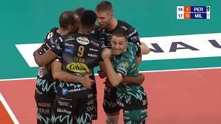 Highlights 19 giornata di SuperLega | Perugia - Milano