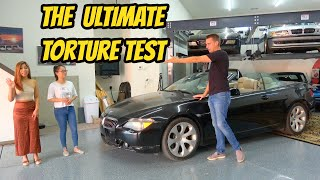homepage tile video photo for How long will this broken BMW last with zero repairs? (and a skilled test driver)