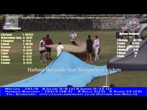 District Tournament Yr 11 Boys: Western v Harbour Burgundy