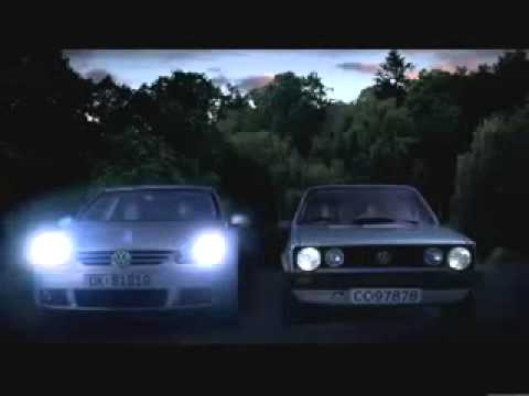 Volkswagen Golf Funny Car Commercial is in The Air - YouTube