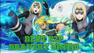Video BEST FREE TO PLAY BRAVERY UNIT IN THE GAME!?!? SANNIN TSUNADE OVERVIEW + PvP Minato download MP3, 3GP, MP4, WEBM, AVI, FLV Agustus 2018