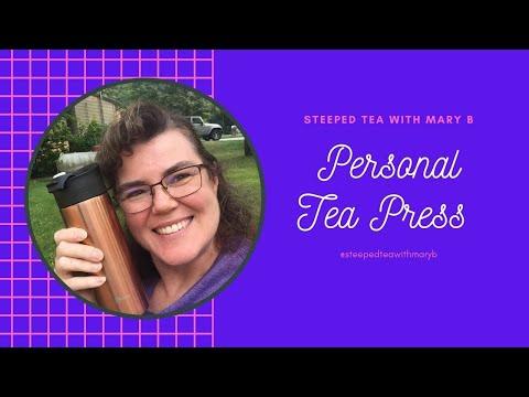 Personal Tea press