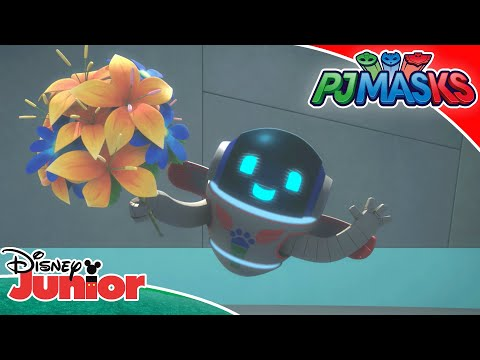💪 PJ Robot Takes Control | PJ Masks | Disney Junior UK