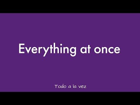 Lenka - Everything At Once (Sub Español)