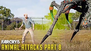 Gambar cover FAR CRY 5 - All Animal Attacks on Zombie Walker (Animal Attacks Part 8) Animals VS Zombie