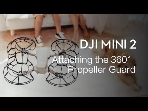 DJI Mini 2 | How to Attach the 360° Propeller Guard
