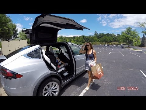 Our Tesla Model X road trip! Part 2 of 3