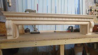 изготовление портала с карнизом часть 2. Manufacturing portal with a cornice part #2