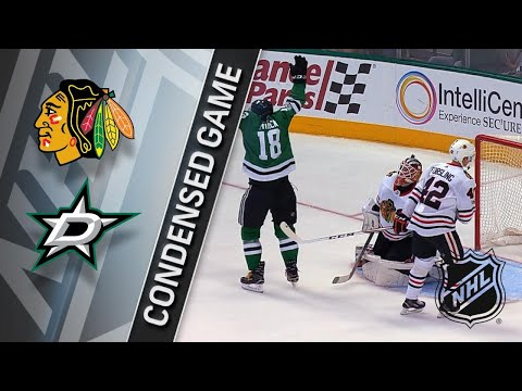 12/02/17 Condensed Game: Blackhawks @ Stars