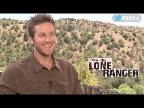 Armie Hammer wigs out as he describes his