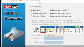 MiniTool Partition Recovery Freeware