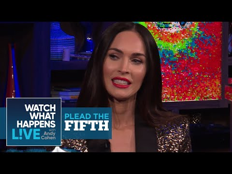 Megan Fox Plays Plead The Fifth! | Plead The Fifth | WWHL