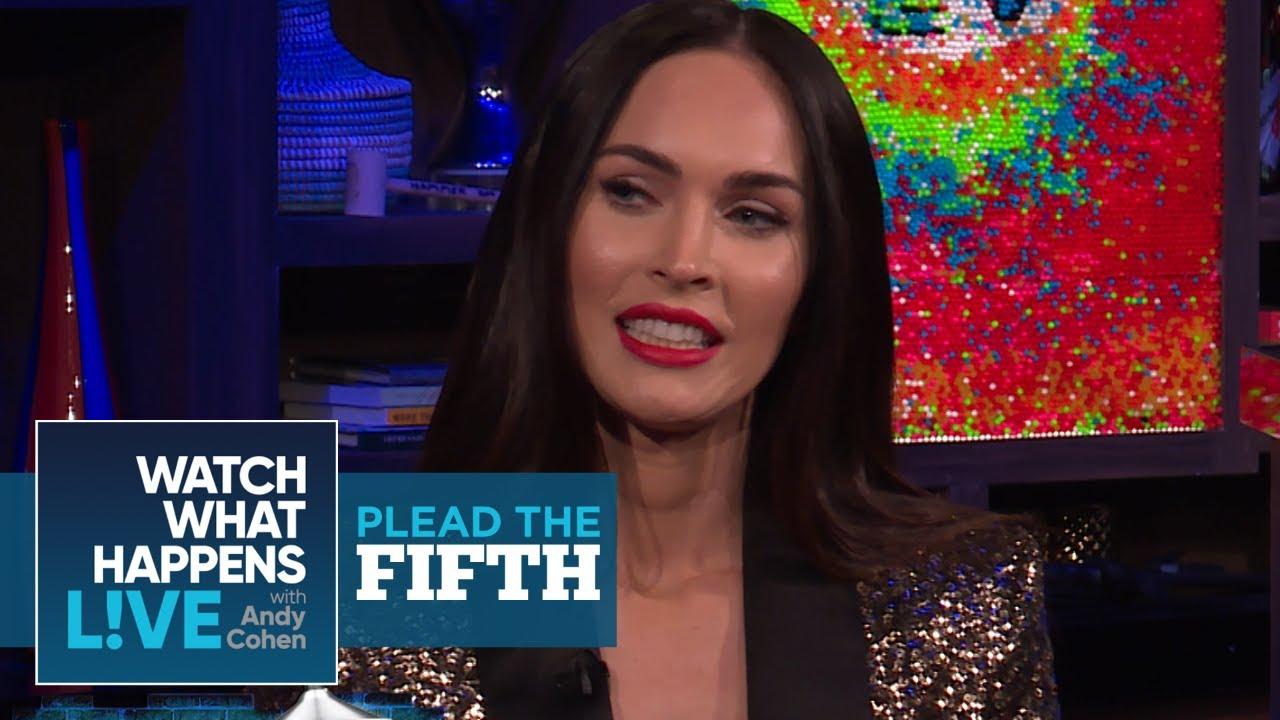 Megan Fox Plays Plead The Fifth! | Plead The Fifth | WWHL ...