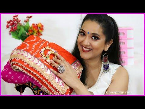 Jaipur Bapu Bazar Shopping haul | Navratri Festive haul | Perkymegs