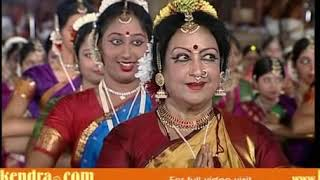 Bharatanatyam Performance by 1000 dancers - RajaRajeswaram 1000