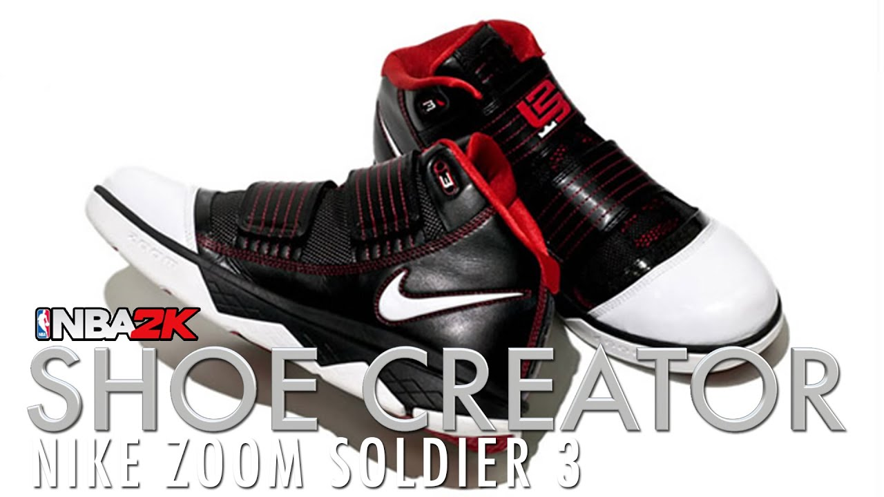 ec15031cc3844e NBA 2K16 Shoe Creator  Nike Zoom Soldier 3 - YouTube