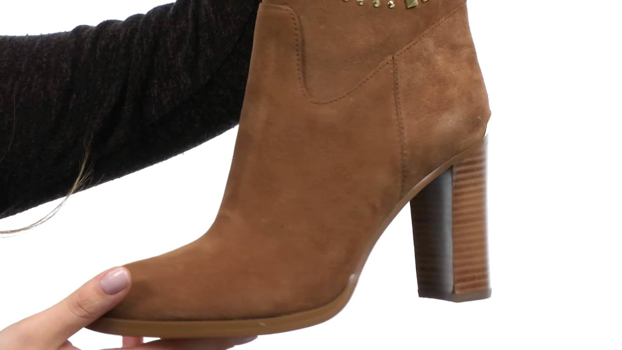 4bcf99be3b5d MICHAEL Michael Kors Reena Studded Tall Boot SKU:8419039 - YouTube