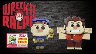 WRECK it RALPH & FIX it FELIX SDCC Exclusive Funko Pop Review 8-Bit