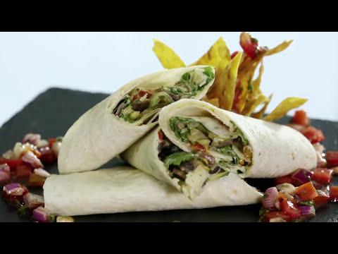 Hi Tea | Veg Caesar Wrap Recipe | Chef Ajay Chopra | Quick & Easy Recipes