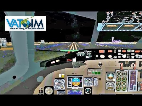 VATSIM: Landing In LAX With ATC | American Airlines MD-80 | Part 2 (FSX)