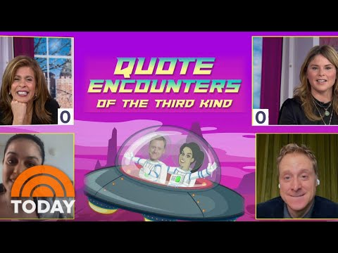 Hoda And Jenna Guess The Famous Alien In Hilarious Game | TODAY