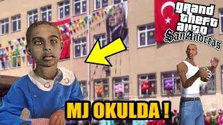 CJ N OCUU OKULA BALIYOR GTA SAN ANDREAS GEREK HAYAT MOD