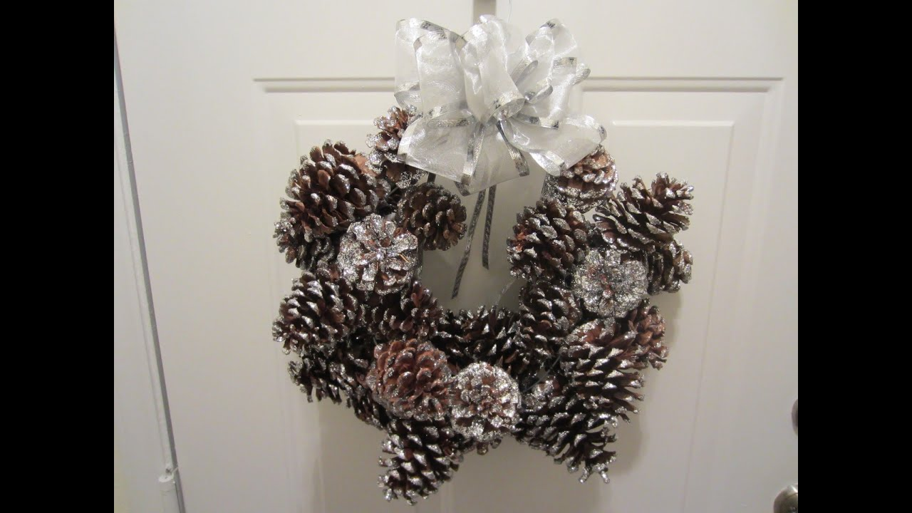 How To Make A Pinecone Wreath In 6 Easy Steps