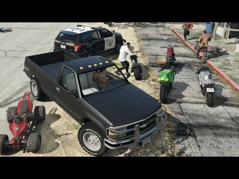 GTA 5 FiveM RP -Insurance Fraud Plan Getting Rid Of The Evidence!