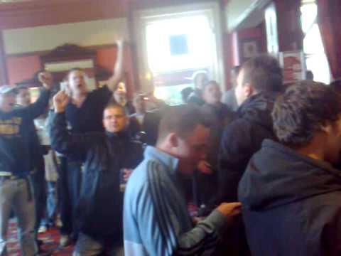 Leeds fans singing MOT away at Blackburn (2) - YouTube