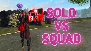SOLO VS SQUAD || 21 KILLS || I LOST THIS GAME BUT 🔥!!!!!