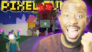 BOSS BATTLE! MAGICAL VALLEY RAID! | Pixel Gun 3D