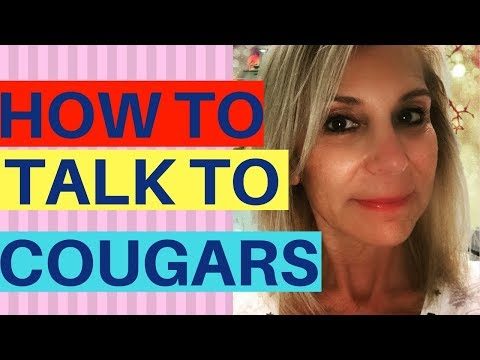 How To Talk To Cougars! What To Say (Or Not) To Older Women.