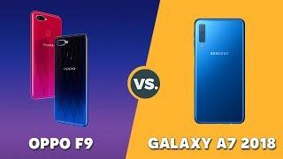 Speedtest Samsung Galaxy A7 2018 vs Oppo F9: Exynos 7885 vs Helio P60