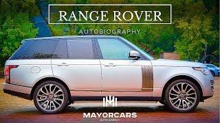 RANGE ROVER Autobiography. Mayorcars - auto agency.