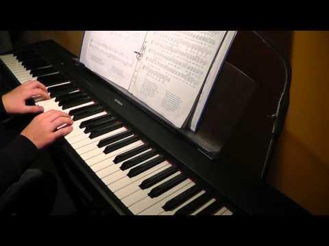 Über den Wolken, Piano-Version