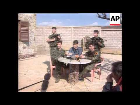 FRANCE: PARIS: KLA ARRIVE FOR KOSOVO PEACE TALKS UPDATE