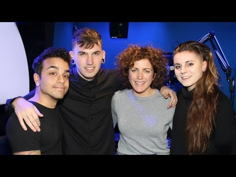 PVRIS Interview at BBC Radio 1 Party Playlist with Annie Mac